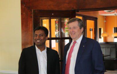 Mayor John Tory & Councillor Neethan Shan's Luncheon with Tamil Medias