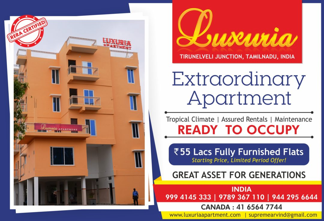 LUXURIA APARTMENT