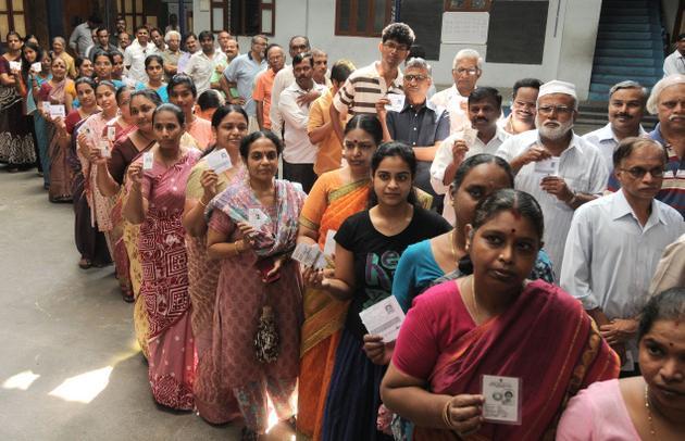 இந்தியா: 3-ம் கட்ட தேர்தல்; கேரளா உட்பட 117 தொகுதிகளில் வாக்குப் பதிவு தொடங்கியது