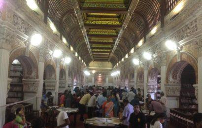 சென்னை கன்னிமாரா நூலகத்தில் 500 ஆண்டுகள் பழமையான புத்தகங்கள் கண்காட்சி!