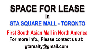 Space available for lease for immediate occupancy,  Possible uses:  Dental office,  Ophthalmologist  office  Accounting Office, Engineering office,  Media office,  Financing   and Mortgage office   and   immigration office.  ( Exception for Pharmacy and family Doctor office)  For more info., Please contact us at:  gtarealty@gmail.com  (HomeLife /GTA Realty Inc, Brokerage)