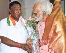 எழுத்தாளர் கி.ராஜநாராயணன் 97ஆவது பிறந்தநாள்: புதுச்சேரி முதலமைச்சர் நேரில் வாழ்த்து!